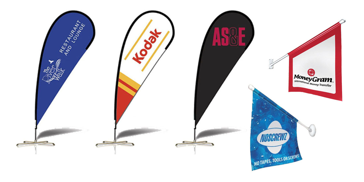 Flags are a great way to promote your business or brand