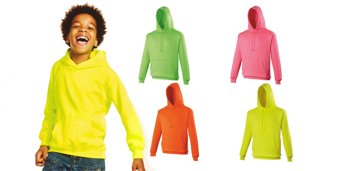 Check out the exciting range of children's electric hoodies from DecalArts